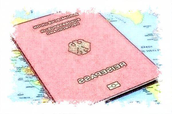 德国护照翻译模板德语翻译