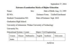 高等学校入学考试成绩翻译成绩单翻译机构