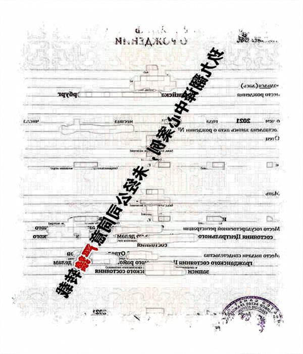 俄罗斯出生证明翻译_国外出生证明翻译_俄罗斯出生证明翻译模板